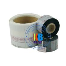 Ruban 110 * 300 de transfert thermique de la couleur TTR de haute qualité pour l'imprimante de code à barres de zèbre