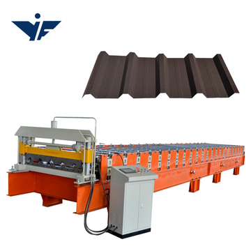color steel roof tile sheet making machine