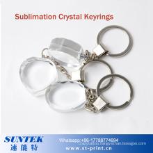 DIY Blank Crystal Keyring/Keychain for Sublimation Printing