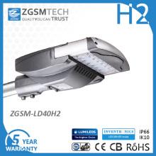 40W IP66 Solar LED Street Light for Parking Lot Road Highway Lighting