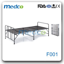 Hospital flat bed/stainless steel hospital bed