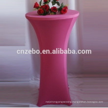 wholesales custom stretch table cover sheet