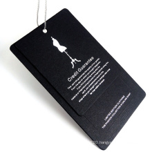 Customized Printed Clothing Tagger Hangtag Garment Paper Tag