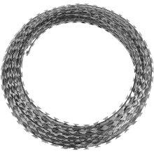 EG Or HDG Galvanized Nato Barbed Wire Razor Concertina Wire Price