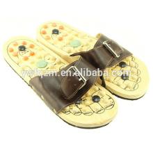 sapatos massageador de pé de madeira
