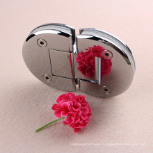 Popular 180 degree glass to glass brass hinges in USA