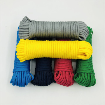 Färg Paracord Multi-purpose Nylon Rope