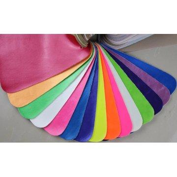 Eco-Friendly em relevo de couro artificial de PVC para sofá (868 #)