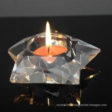 Bougie en cristal exquise Décoration de mariage