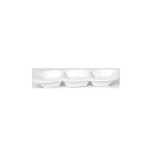 7513 Wholesale Custom Hot sale best quality melamine tableware White Plate Kitchen Plates for Restaurant