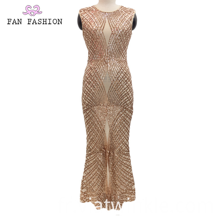 Party Sequin Evening Dress