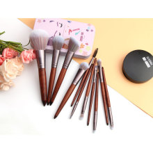 Premium Tierhaar Make-up Pinsel Essential Set