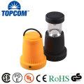 Temperatura de color blanco fresco (CCT) y material del cuerpo de la lámpara del ABS Linterna que acampa