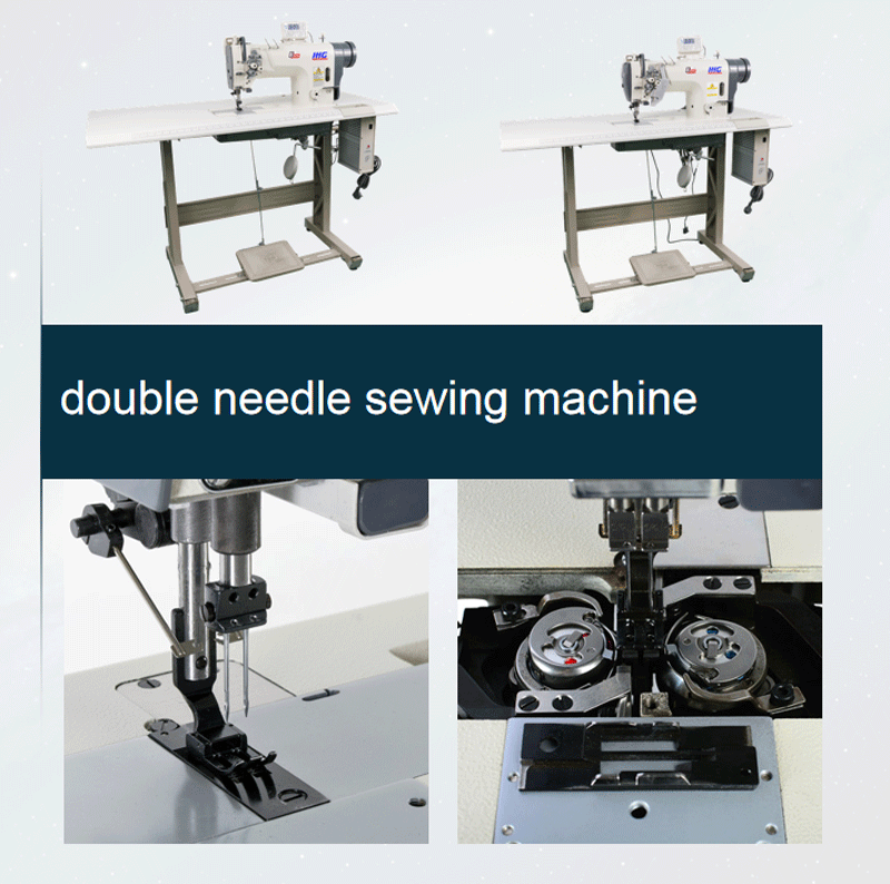 Double Needle Sewing Machine Industrial