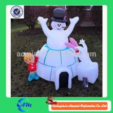 Modelo inflable de la venta, hombre inflable de la nieve de la venta caliente para la venta
