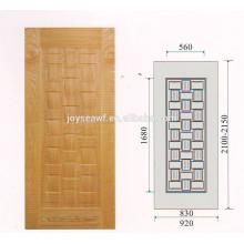 4,2 мм дверца шпона дерева Hdf Кожа двери из шпона дуба