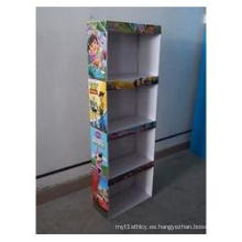 Pantalla Sidekick de cartón para juguetes