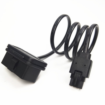 OBD2 untuk Overmolded 24PIN Micro Fit Cable Assembly