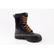 2015 novas Dsign promocional alta tornozelo aço Toe segurança sapatos