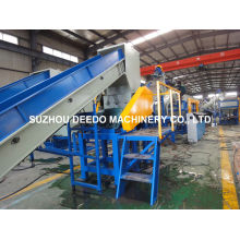 Waste Plastic PP PE Film Recycling Line