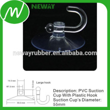 55mm de la taza universal de la succión impermeable con el gancho grande