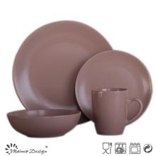 16PCS Round Matte Colorful Ceramic Dinner Set