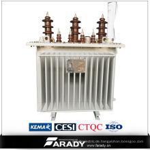 Heißer Verkauf drei Phase 800kva Ölart yueqing Transformator