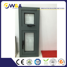 Australian Standard Aluminum Casement Window Sizes with SGS Certificate