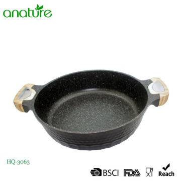 Ustensile de cuisine Die Cast Diamond Low Pot à soupe