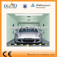 Rear Opening Car Elevator with Painted Steel Plate