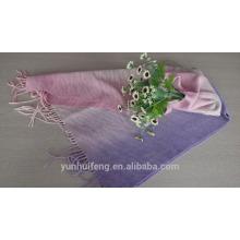 Chaqueta y bufanda de lana y cashmere de Mongolia Interior de alta calidad