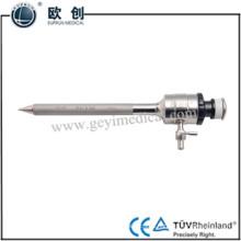 Trocar endoscópico cirúrgico reutilizável magnético