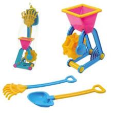 Sommer Spielzeug Kunststoff Sand Set 3PCS Strand Spielzeug für Kinder (10214408)