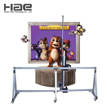 3D Painting Machine Direct en la pared