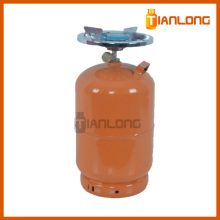 12L Refilled Steel Material BBQ LPG Gas Cylinder for Africa
