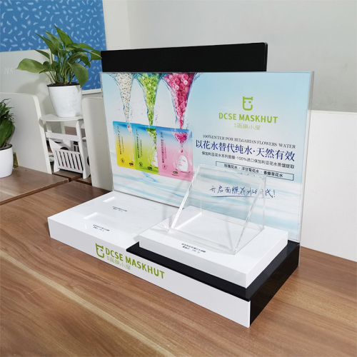 OEM kundenspezifischer Druck High-End-Kosmetik Display Acryl