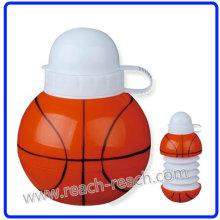 Basket Ball Form Kunststoff Wasserflasche (R-1186)