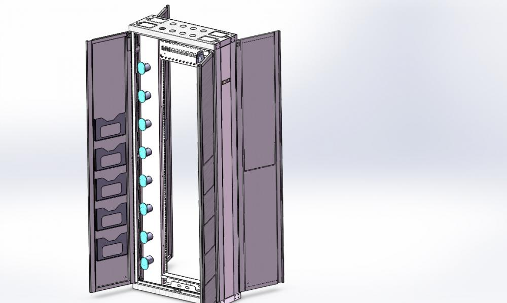 Rack Mount Fiber Distribution Frame