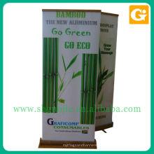 Бамбук сверните вверх Знамя или другой изготовленный на заказ Размер