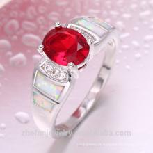 anel de jóias de rubi de cobre jóias de importação de iraque da china jóias anel inteligente