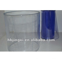 Cortina suave de PVC transparente de alto nível