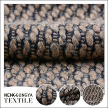 Tela de microfibra de felpa de tweed de alta calidad de alta calidad de calidad superior