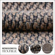Top qualité de haute qualité tweed chenille microfibre tissu