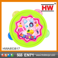 2015 New Design Funny Ring The Bell Baby Toys Handmade Tambourine