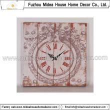 Shabby Chic Clocks Home Decor Grande horloge murale