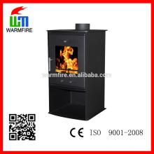 Freestanding designer de madeira lareira fábrica fornecer diretamente WM210