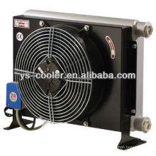 12v / 24v DC алюминиевый ребристый масляный радиатор с вентилятором для бетононасоса