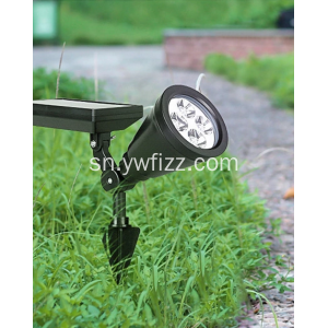 Solar waterproof projection wireless lawn lamp