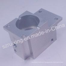 Peças usinadas CNC de bloco de alumínio