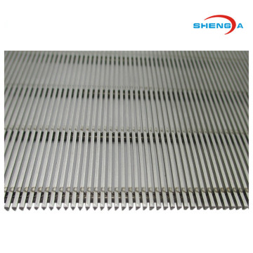 Rostfritt stål Wedge Wire Screen Sieve Plate